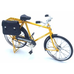 miniature bicycle 23cm Yellow