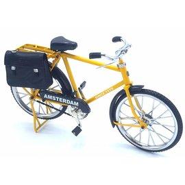 miniature bicycle 23cm Yellow