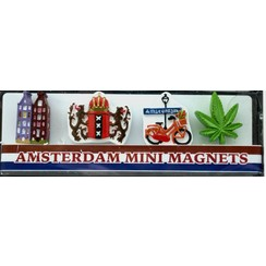 Minimagneten Amsterdam Mix