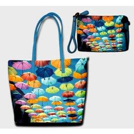 Celdes BG0021 Colorful Umbrella's bagset