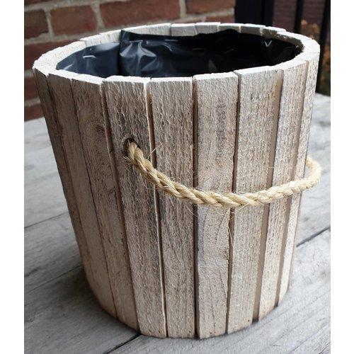 houten emmertje