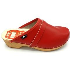 Swedish clogs Red