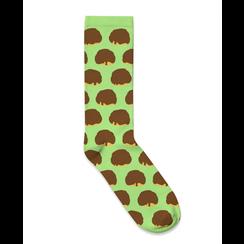 Socks Bosch balls design green