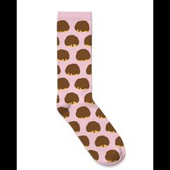 Socks Bosch balls design pink