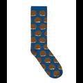 Socks Bosch balls design dark blue
