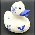 Dutch Ducky Badeend Delftblue 8cm