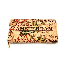 Vondel Wallet Map of Amsterdam