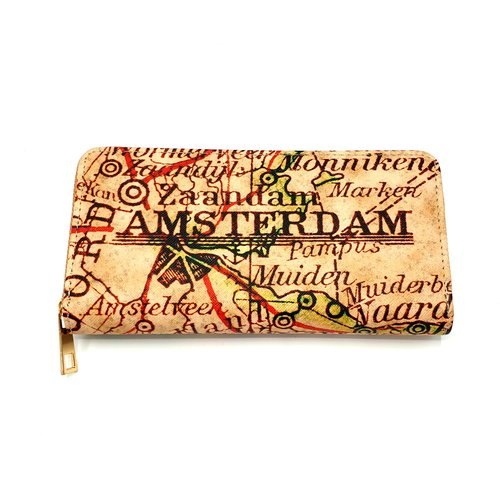 Vondel Wallets Vondel Wallet Map of Amsterdam