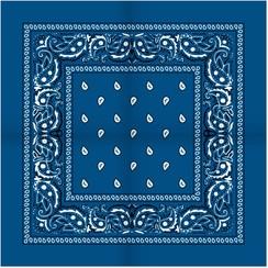 Boerenzakdoek Blauw