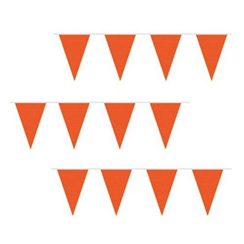 party flags orange 10m