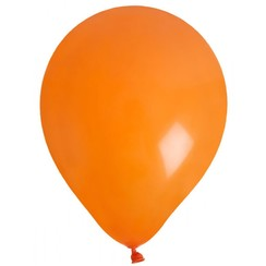 Ballonnen (10) oranje