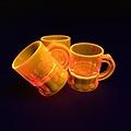 shotglas fluoriscerend oranje