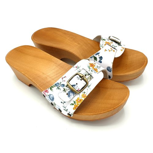 DINA DINA sandalen bloemetjes