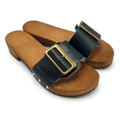 DINA DINA sandalen 2.0 zwart