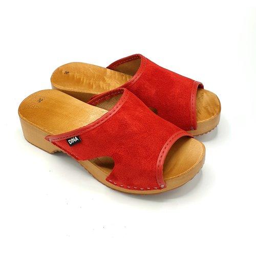 DINA Sandalen rood