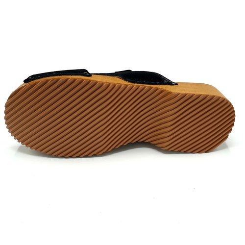 DINA DINA sandalen zwart