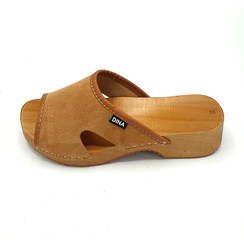 Sandalen suede beige