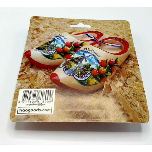 blister 5 keyhangers woodenshoes