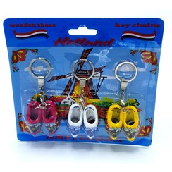 blister 3 keyhangers 2 woodenshoes