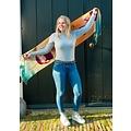 Irene Tulip scarfs scarf orange/blue TR921