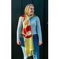 Irene Tulip scarfs sjaal geel TG916