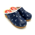 DINA DINA leather clogs Anchor