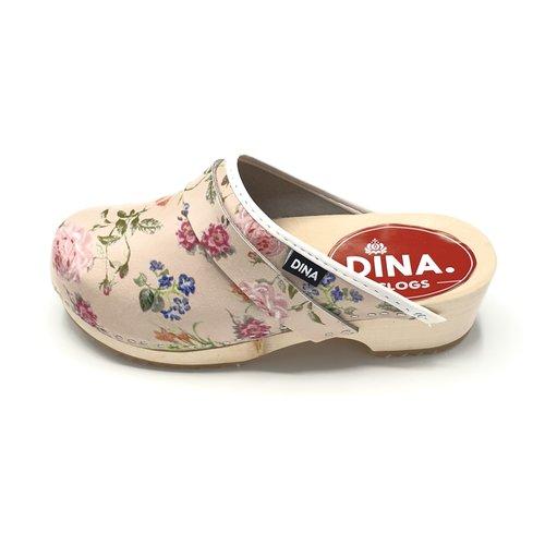 DINA DINA leren klompen jardin