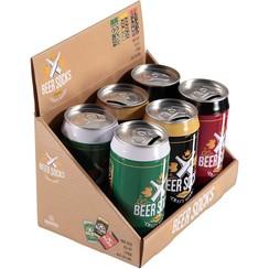 Bier sokken in blik (6stuks per display)