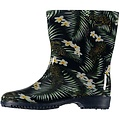 Rain boots flower print (10pair assorti)