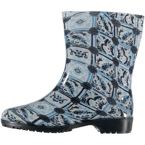 Laarzen delftsblauwe tegels(10 paar assorti)