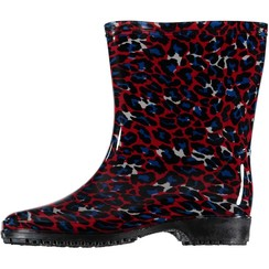 Rain boots red leopard (10pair assorti)