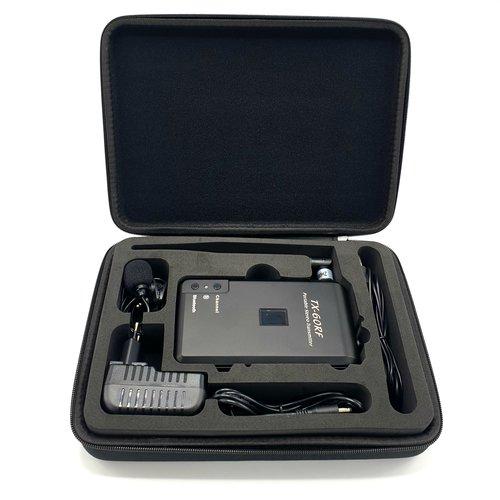 Silent disco FM-transmitter wireless bluetooth