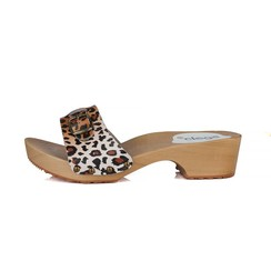 slippers leopard