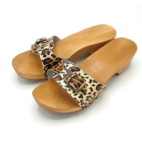 DINA slippers leopard
