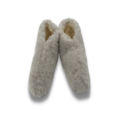 DINA slippers wool 100% natural GREY