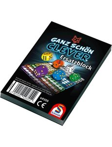 999 Games Clever extra scoreblokken, 2 stuks