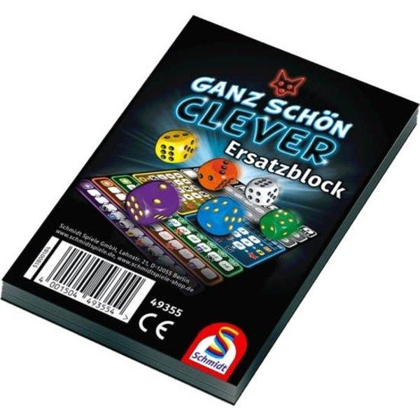 999 Games Clever extra scoreblokken