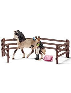 Andalusier Paarden verzorgingsset - 42270