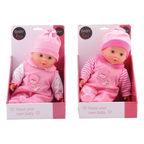 Baby Rose pop, 30 cm, assorti
