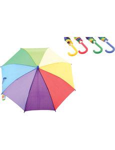 Regenboog paraplu, assorti