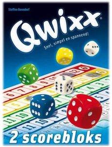 White Goblin Games Qwixx scoreblok