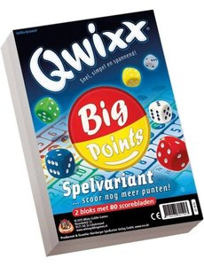 Qwixx big point scoreblok