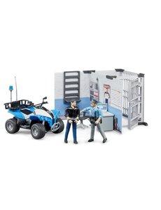62730 - Politiebureau met quad, politieagent en boef