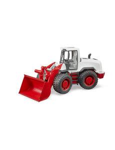 Bruder 3410 - Shovel rood-wit