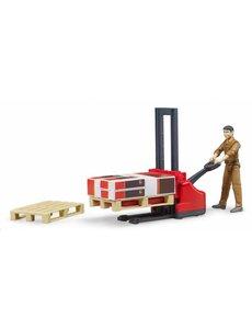 Bruder 62210 - Logistiek set UPS met speelfiguur
