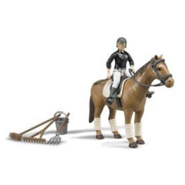62505 - Figurenset paardrijden