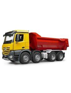 Bruder 3623 - Mercedes Benz Arocs halfpipe dump truck (blauw)