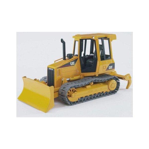 Bruder 2443 - Caterpillar kleine bulldozer met rupsbanden
