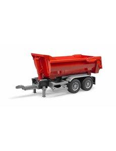 Halfpipe aanhanger voor vrachtwagens