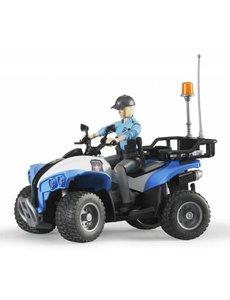 Politie Quad met agente en accessoires